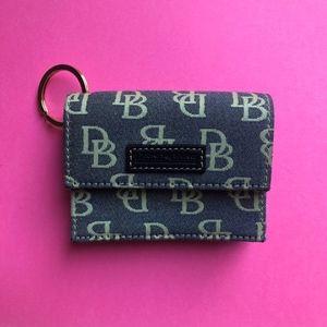 Dooney and Bourke Denim Wallet